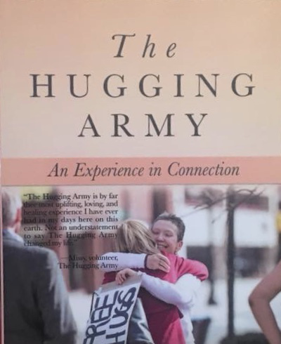 the hugging army book cover