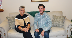 Sister Mary Persico and student, Brandon Morley