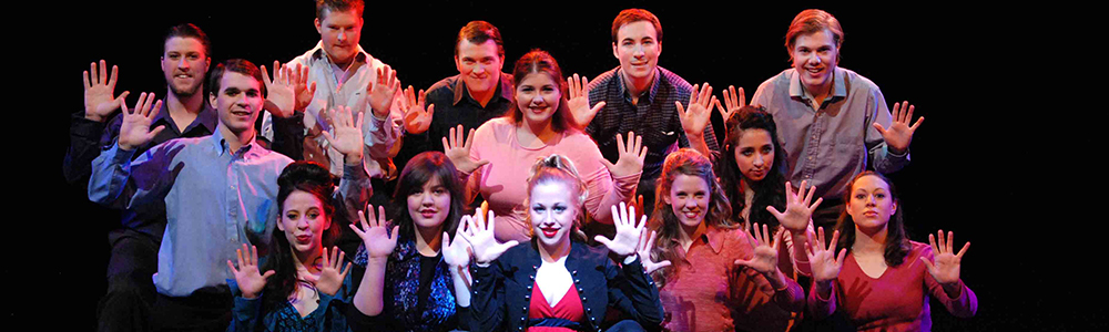 pippin students on stage