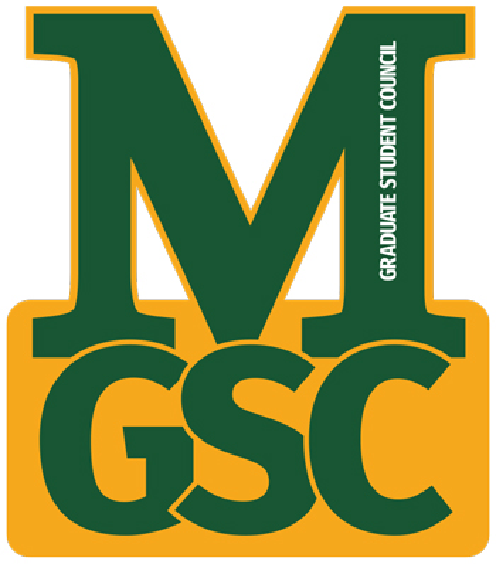 graduate student council logo striving for excellence